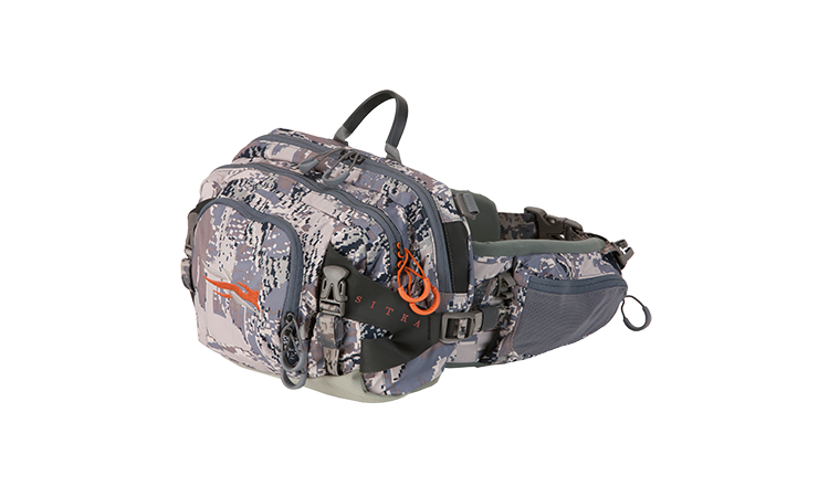 Sitka ascent 8 lumbar pack the itinerant angler for Ascent fly fishing