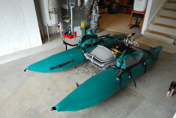 How To Repair A Pontoon Boat The Itinerant Angler