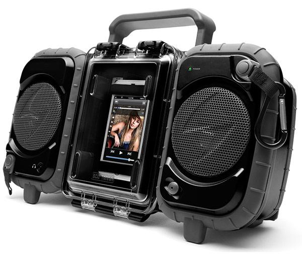 Grace-Digital-ECO-TERRA-Waterproof-Boombox-Case