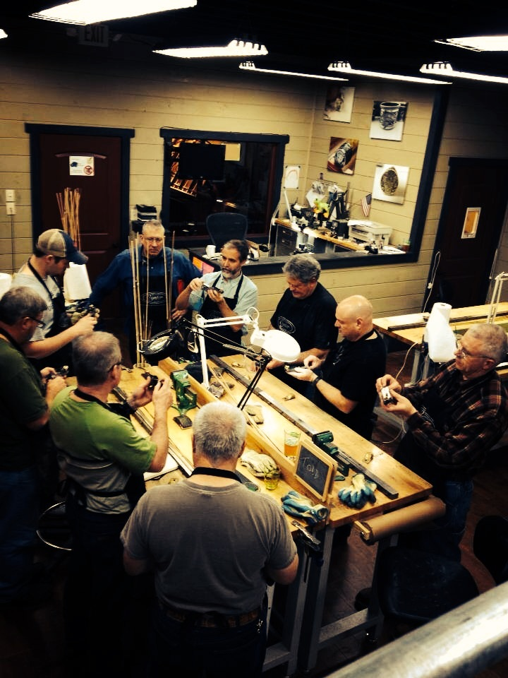 oyster bamboo fly rod making shop class